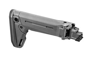 Magpul Zhukov-S Stock, Fits AK, Gray Finish MAG585-GRY