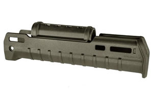 "Magpul Zhukov-U Handguard, Fits AK varients, OD Green Polymer,  1.5"" Shorter In Length Than The Standard Zhukov Handguard MAG680-ODG"