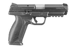 "Ruger American Pistol 08615, 45 ACP, 4.5"" BBL, Black Finish, 10Rd"