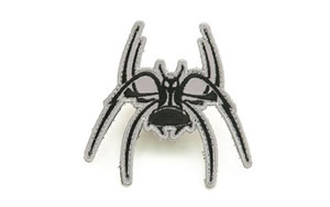 Spike's Tactical Spider Patch, Black and Grey Finish SGP0011