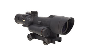 Trijicon ACOG, 3.5x35mm, Red LED Illuminated .308 Chevron Reticle, With TA51 Mount, Matte Finish TA110-C-100497