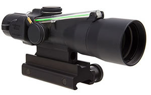 Trijicon ACOG, Compact, 3x30, Dual Illuminated Green Chevron, .223/62gr. Ballistic Reticle, With Colt Knob Thumbscrew Mount TA33-C-400127