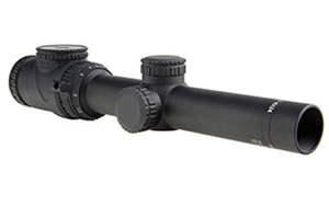 Trijicon AccuPoint Rifle Scope, 1-6X 24, MOA-Dot Crosshair with Green Dot, 30mm, Matte Finish TR25-C-200089