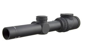Trijicon AccuPoint, Rifle Scope, 1-6X, 24, MIL-Dot with Green Dot, Matte, 30MM TR25-C-200095