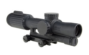 Trijicon VCOG Rifle Scope 1-6X 24 Red Segmented Circle / Crosshair .223 Matte With TA51 Mount VC16-C-1600000