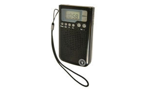 UST - Ultimate Survival Technologies Weatherband Radio, Black 20-02181-01