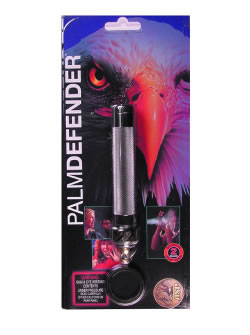 ASP Palm Defender Pepper Spray, 1.8 oz., With Heat, Pewter Finish 54952