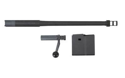 "Desert Tech Conversion Kit, 338 Lapua, Includes 18"" Match Grade Barrel, Bolt, and Magazine, 1:9 Twist, Compatible w/SRS-A1 Covert Rifle Chassis, 5Rd, Black Finish DT-SRS-CK-GBR"