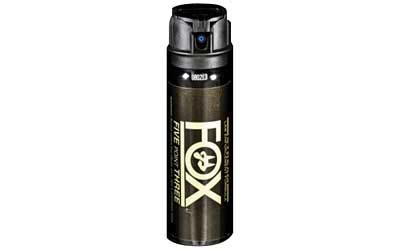 PS Products Fox Pepper Spray, 4oz, Flip-Top, Stream 42FTS