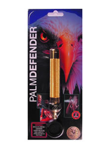ASP Palm Defender Pepper Spray, 1.8 oz., With Heat, Gold Finish 54955