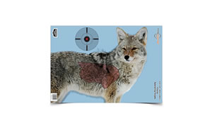 Birchwood Casey Pregame Target, Target With Visible Vitals, Coyote, 16.5x24, 3 Targets 35405