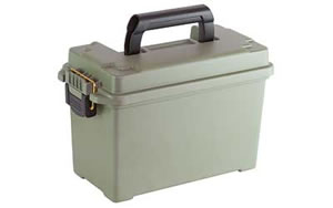 "Plano Field Box Ammunition Box, Rifle Ammunition Case, 13.75""X7""X8.75"", Gray 171200"