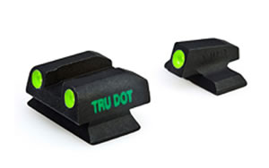 Meprolight Tru-Dot Sight, Fits Ber PX4, Green/Green, Fixed 10666