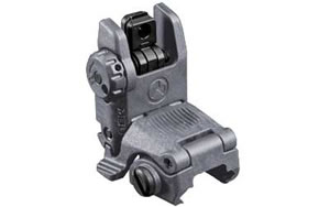 Magpul Industries MBUS Rear Sight, Generation II, Fits Picatinny, Gray Finish MAG248-GRY