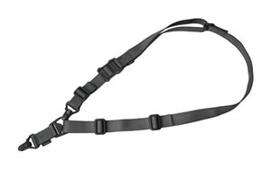 Magpul Industries MS3 Multi Mission Sling System, Gen 2, Gray MAG514-GRY