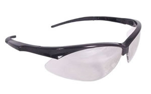 Radians Outback Glasses, Black Frame, Ice Lens, With Cord OBO190CS