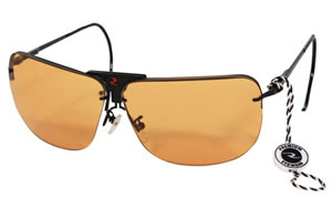 Radians RSG-3 Glasses, 3 Interchangeable Lenses - Clear, Orange & Amber RSG-3LK