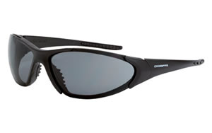 Radians Crossfire M16 Glasses, Smoke Lens, Black Frame XFM16-1020C