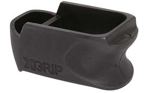 X-GRIP Magazine Spacer, Fits Glock 26/27, Glock 26 to Glock 19, Black GL26-27C