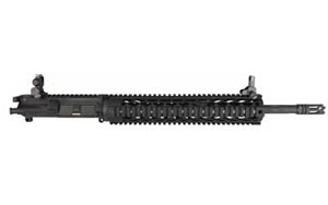 "Yankee Hill Machine Co Upper, Black Diamond Specter XL Carbine Top End, 556NATO, 16"" Barrel, 1:7 Twist, Fits AR Rifles, Black Finish, YHM Flip Front and Rear Sight YHM-7820-7"