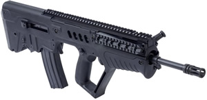 IWI Tavor SAR Bullpup Left-Hand Rifle TSB16L, 5.56 Nato, 16 in BBL, Semi-Auto, Gas Piston, Syn Stock, Black Finish, 30 Rds