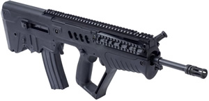 IWI Tavor SAR Bullpup Rifle TSB16, 5.56 Nato, 16 in BBL, Semi-Auto, Gas Piston, Syn Stock, Black Finish, 30 Rds